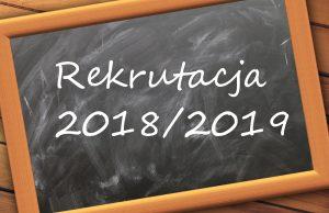 Komunikat w sprawie rekrutacji do klasy pierwszej Szkoły Podstawowej oraz oddziału przedszkolnego w Jedlni