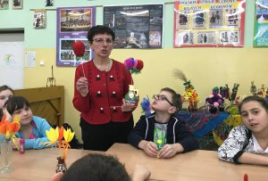 Spotkanie i warsztaty z panią Jolantą Falkiewicz