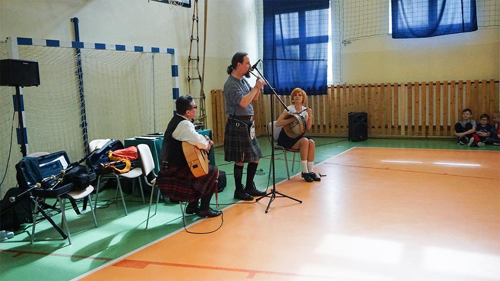 Koncert muzyczny – celtyckie trio.